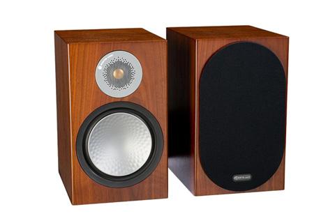 Monitor Audio Silver 100 reol højttaler, valnød