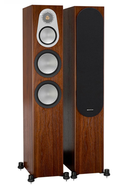 Monitor Audio Silver 300 gulvhøjttaler, valnød