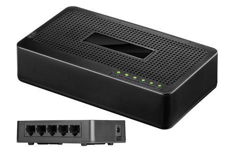 Network switch, 5 port
