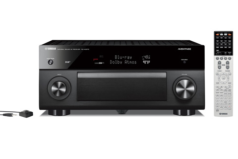 Yamaha RX-A3070 surround receiver, sort