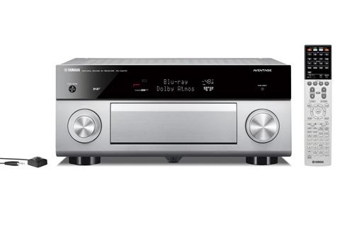 Yamaha RX-A3070 surround receiver, sølv