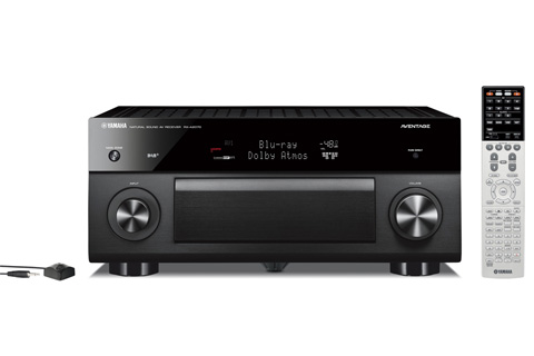 Yamaha RX-A2070 surround receiver, sort