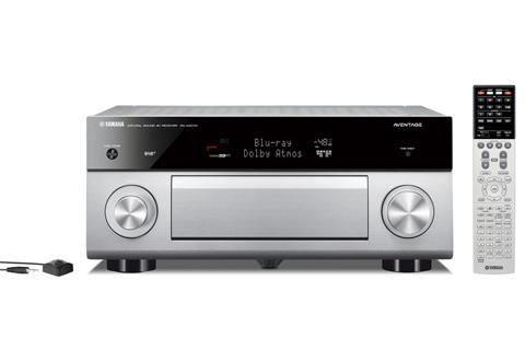Yamaha RX-A2070 surround receiver, sølv