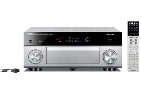 Yamaha RX-A1070 surround receiver, sølv