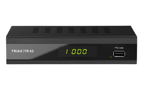 Triax TR-63 DVB-T2 HD receiver