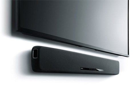 - Yamaha YAS-107 soundbar, black