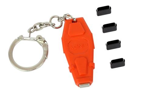 USB-C og Thunderbolt 3 port blocker med nøgle