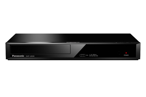 - Panasonic DMP-UB300 4K Blu-ray afspiller