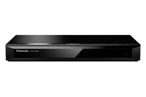 - Panasonic DMP-UB400 4K Blu-ray afspiller