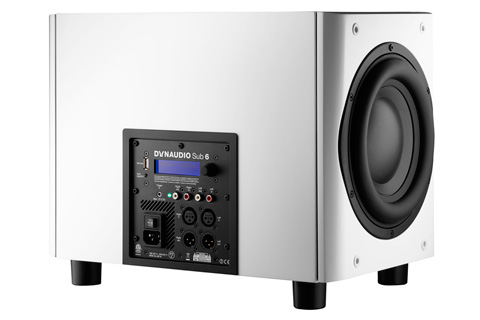 Dynaudio Sub 6 back satin white