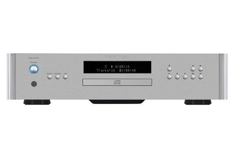 Rotel RCD-1572 CD-player, alu silver