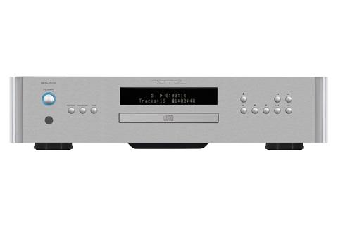 Rotel RCD-1572 CD-afspiller, sølv