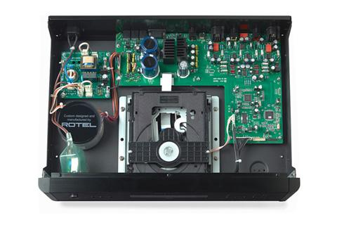 Rotel RCD-1572 CD-afspiller, inside
