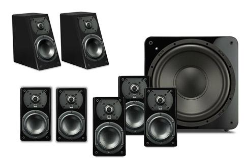 SVS Prime 5.1.2 system, black