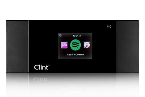 Den ultimative radio adapter til et eksisterende anlæg. Clint H6 radio adapteren opgraderer dit HiFi anlæg med DAB+/FM, Internet radio, DLNA og Spotify Connect.