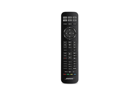 Universal remote control for CineMate® speaker systems for home theater and Bose® Solo audio systems. Can be used as replacement if the original is damaged.