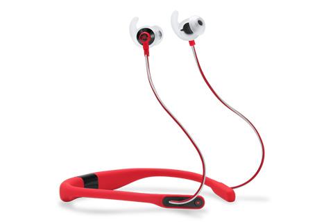 JBL Reflect Fit sportshovedtelefoner, rød