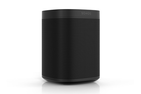 Sonos One smarthøjttaler, sort