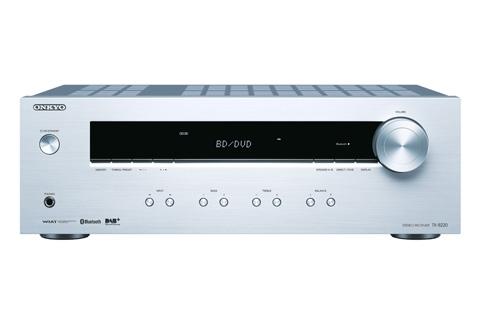 Onkyo TX-8220 DAB+ Stereo receiver, sølv