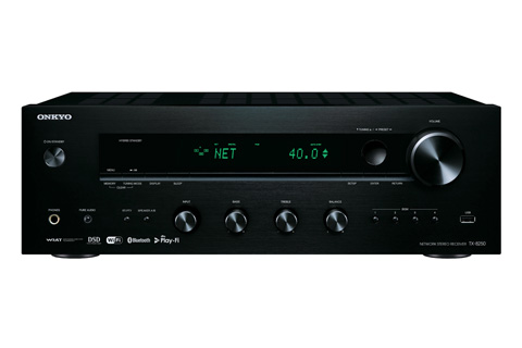 TX-8250 er en kraftfuld stereo receiver fra Onkyo, der kombinerer de bedste ting fra den analoge og digitale verden.