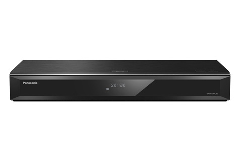 Panasonic DMR-UBC86 Blu-ray HD recorder with 1TB harddisk, dual DVB-C tuner, black