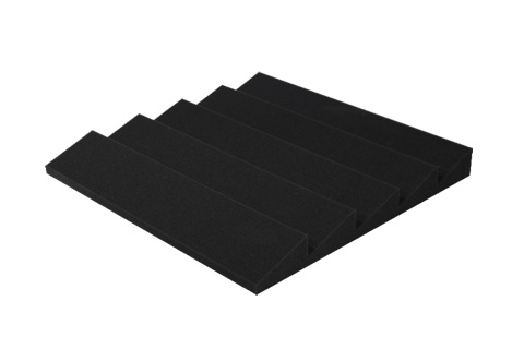 Sonitus Sharpfusor diffuser, 60x60x8cm, 0.72 m², black,  2 pc. pack