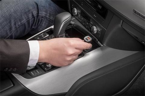 QC 3.0 USB oplader til bil, 2 port