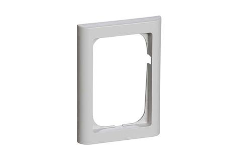 FUGA ramme 1½ modul, softline lysgrå