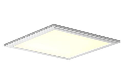 SunFlux LED loft panel 30x30 cm, hvid