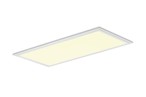 Sunflux LED loft panel 60x30 cm, hvid