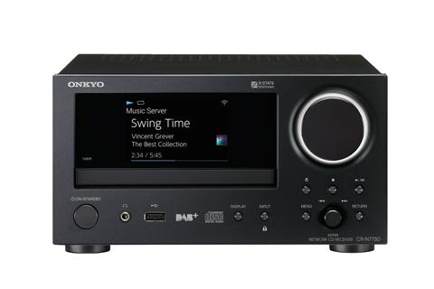 Onkyo CR-N775D CD-receiver, sort