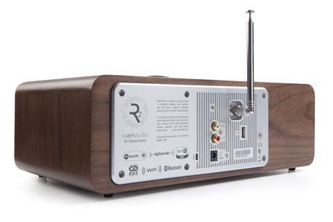 Ruark Audio R2 MK3 side, walnut