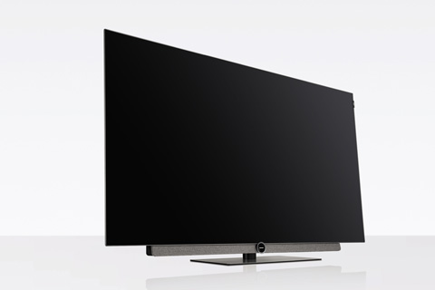 Loewe BILD 3 OLED TV, light grey