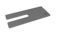 Clic Topdæksel med slids