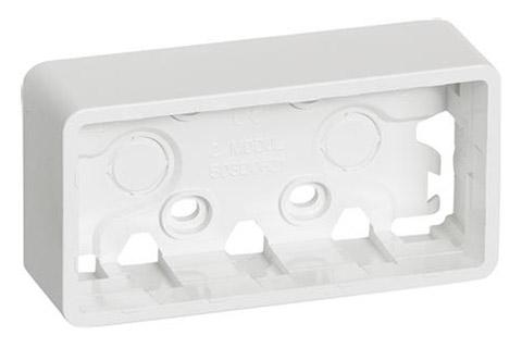 FUGA® Baseline vandret vægunderlag, hvid