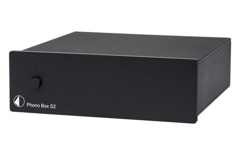 Pro-Ject Phono Box S2 RIAA forforstærker, sort