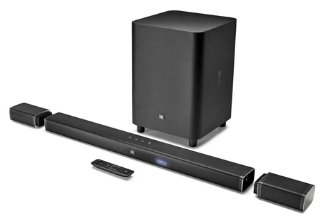 JBL Bar 5.1 soundbar med subwoofer