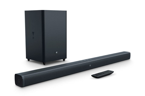 JBL Bar 2.1 soundbar med subwoofer