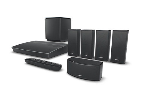 Bose Lifestyle 600, black