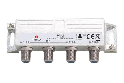 Triax DOCSIS 3.1 antennefordeler, 3-vejs