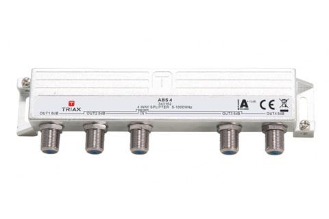 Triax DOCSIS 3.1 antennefordeler, 4-vejs