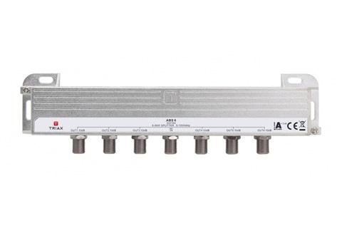 Triax DOCSIS 3.1 antennefordeler, 6-vejs