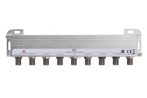 Triax DOCSIS 3.1 antennefordeler, 8-vejs
