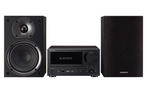 Onkyo CS-375D CD og DAB+ stereo anlæg, sort