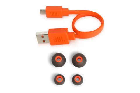 JBL T110BT in-ear trådløse hovedtelefoner, sort