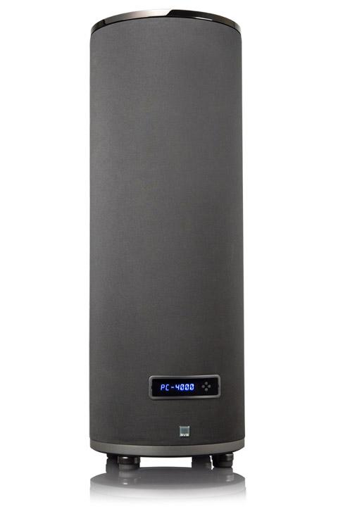 SVS PC-4000 Cylinder Subwoofer, sort højglans