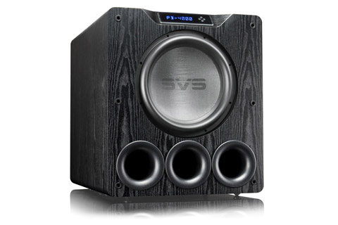 SVS PB-4000 Ultra basrefleks subwoofer, træfinér, sort ask