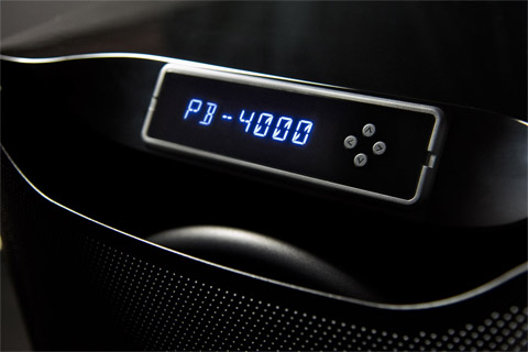 SVS PB-4000 subwoofer, close up
