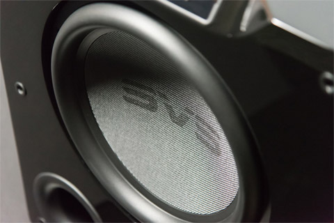 SVS PB-4000 subwoofer, close up