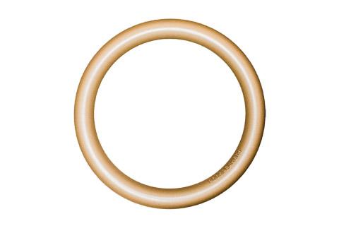 Podspeakers aluminium hoop, soft gold